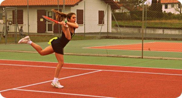 Ma passion c'est le tennis