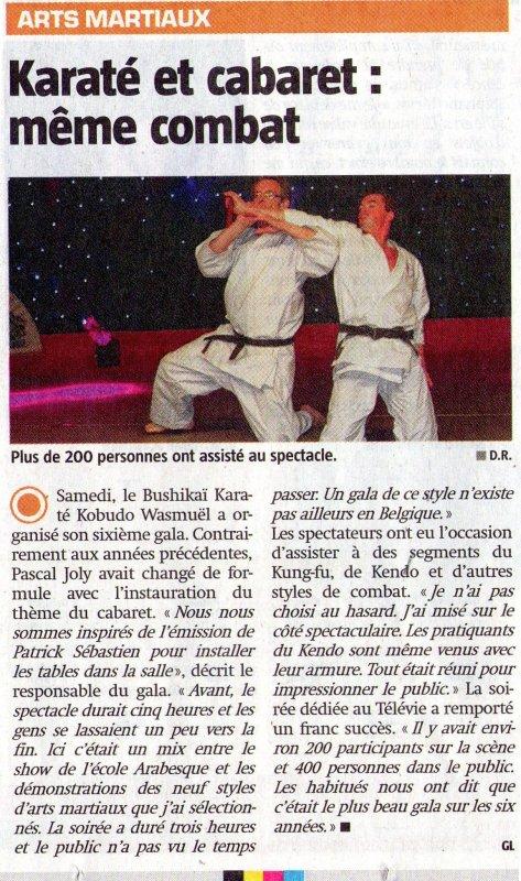 Ce Samedi 25 Avril sur RTL , clôture du 27ème TELEVIE