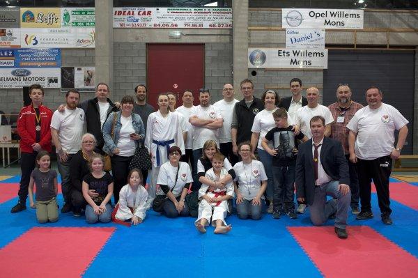 Résultat de la 2ème Open Télévie Cup Karate Do 2019