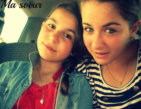 Ma soeur Ma vie.♥