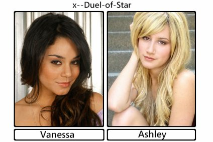 ____________________________________Vanessa Hudgens VS Ashley Tistale____________________________________