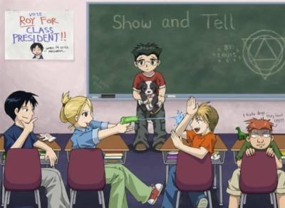 Equipe de Roy a l école