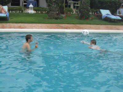 Adrien et Kyllian en plein entrainement...