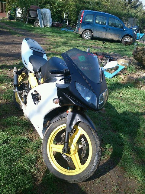 ma moto re faite