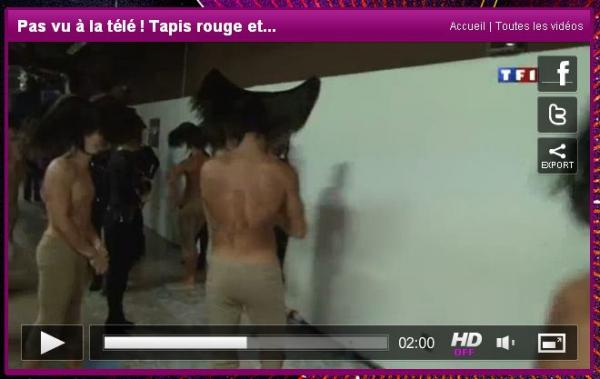 exclu mfetnous: extrait vidéo des danseurs de mylène dans les coulisses