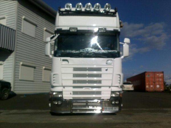 Scania 164L 580 v8... Prépa