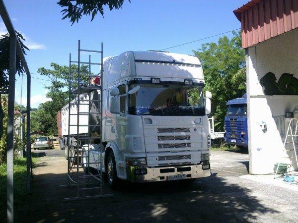 Scania 164L 580 v8 tOpline.. en Prépa..