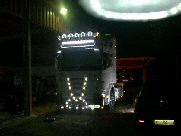 Scania 164L 580 v8 tOpline.. en Prépa Suite..