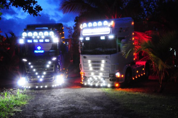 ☆Scania r620 v8 highline & Scania 164l 580 v8 tOpline☆
