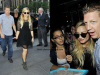 "Demi Lovato sort de l'émission ""Late night with Jimmy Fallon"" à NY (5 septembre)"