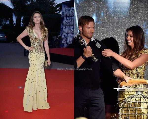 Nina Dobrev aux World Music Awards à Monaco (27 mai)