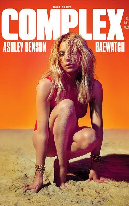 Ashley Benson splendide dans le magazine Complex Juin/Juillet 2014