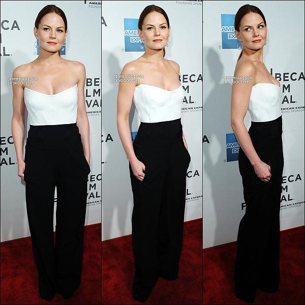 25/04/12 : Jenn était présente à une projection spéciale de son nouveau film « Knife Fight » à New York.