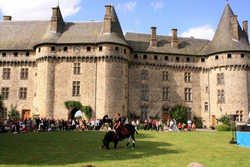Demo terrasse du château.