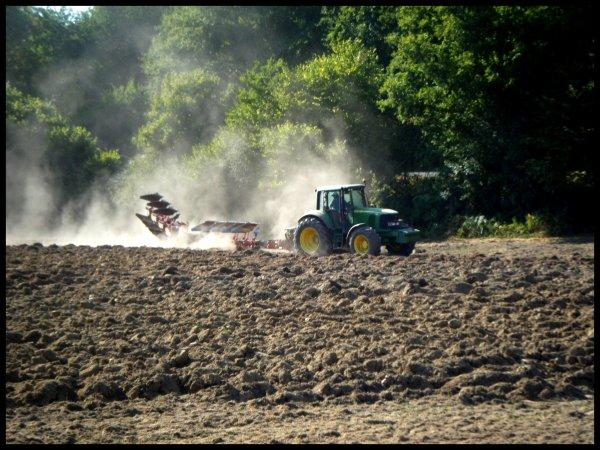 labour pour semer un colza