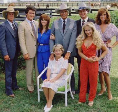 Dallas dallas 1978 1991 le monde magique et intemporel des s ries t l - Feuilleton saloni version francaise ...