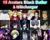 Avatars Black Butler ♥