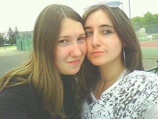 elle et moi!!!