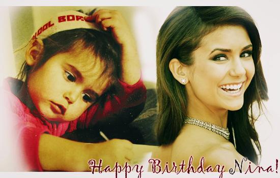 • Bon Anniversaire a notre Nina, et oui déjà 23 ans :D