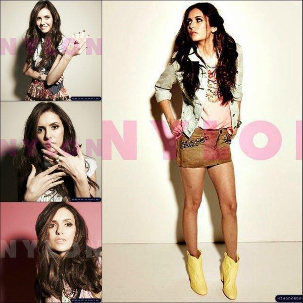 • Plus de photo du magazine Nylon.