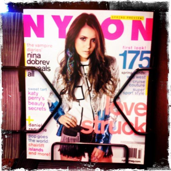 • Nina a posté une nouvelle photo sur Twitter.