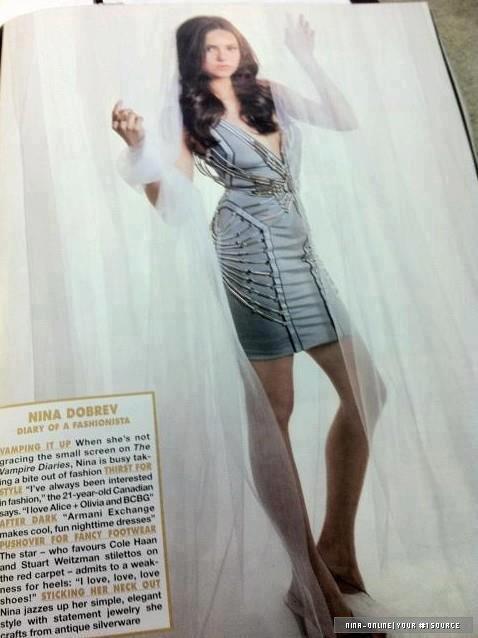 • Une nouvelle photo promotionnelle de Elena/Katherine est apparut.