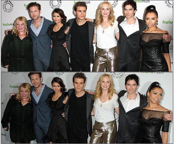 10 mars 2012 ♣ Nina était au PaleyFest 2012 avec tout le Cast . L'évènement s'est déroulé au Saban Theatre à Beverly Hills.