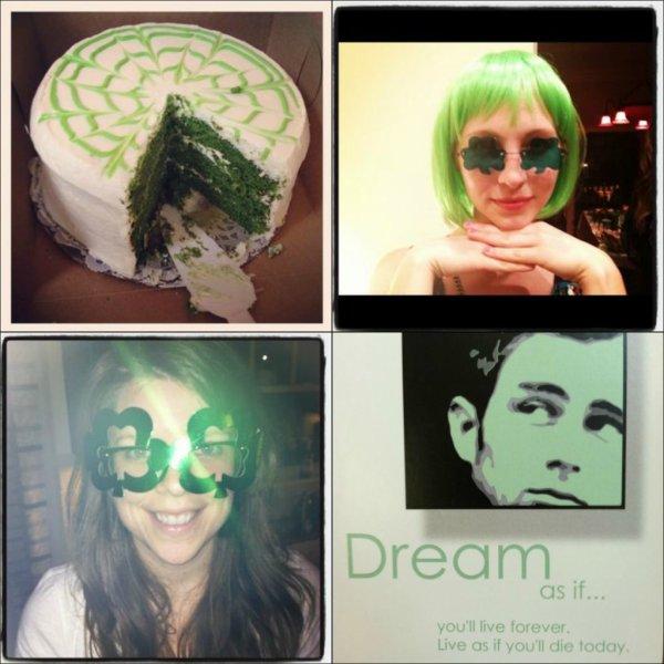 • Voici toute les photos que Nina a posté sur Twitter dernièrement.