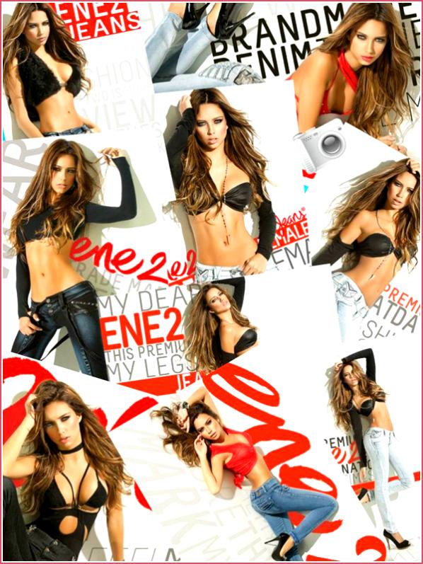 Catalina pour la campagne ENE2 jean :