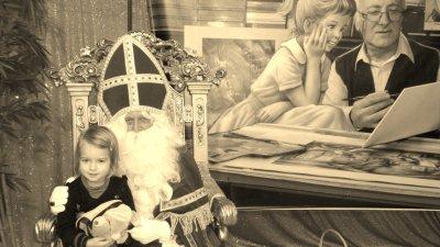 klara & St nicolas ... le 24 novembre 2010.