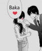 """~ Le mot """"Baka"""" dans les manga est aussi une façon d'exprimer son amour *o*"""