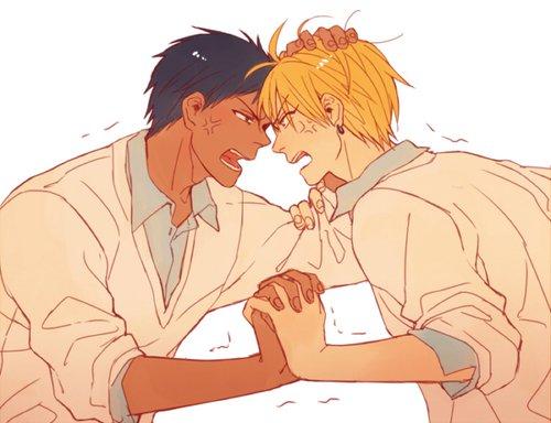 ~ Aomine-kun & Kise-kun