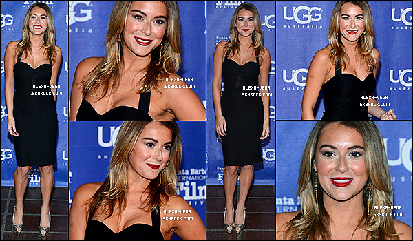 .  05.02.2014 - Alexa était aux « 29ème Festival International du Film » à Santa Barbara. .
