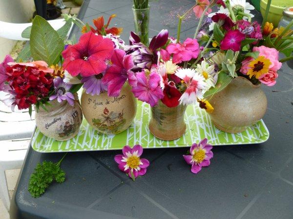 les petits bouquets de mercredi