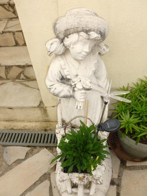 pour ce feuillage de cette plante là''dans la brouette'' avec 2 surfinias