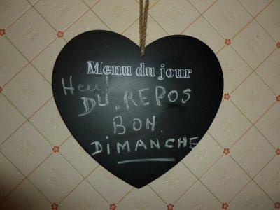 LE MENU DE DIMANCHE