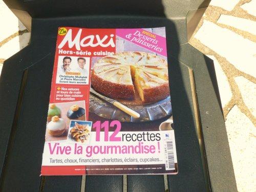 UNE REVUE SPECIALE gâteaux et autres  ''maxi   hors série  !!!!