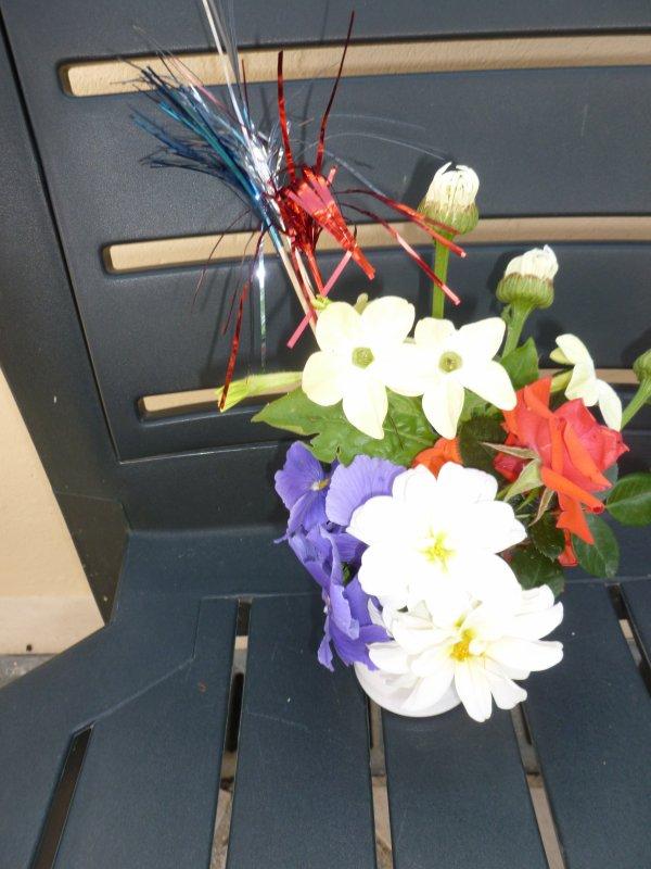en voici une toute petite   mais pas de fleurs bleues !