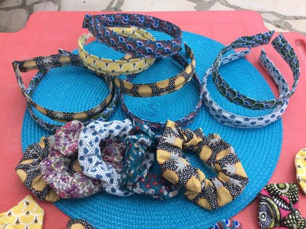 Mes creations d'accessoires cheveux pour bébés,filles et femmes