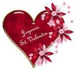 Bonne St Valentin.