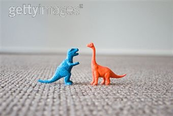 Couple de dinosaures