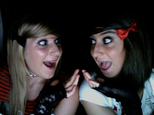 Soirée Sarah et moi, inoubliable =)