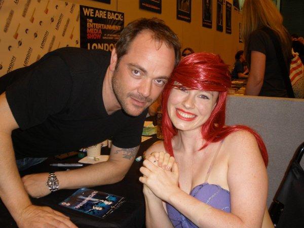 Crowley et Ariel la petite sirène
