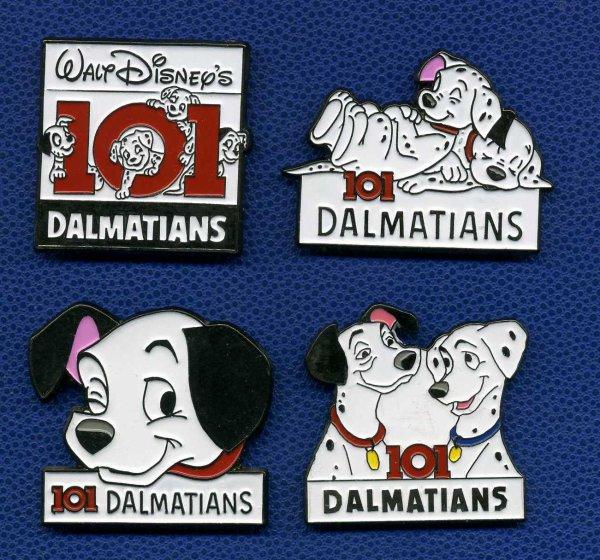 Disney : 101 Dalmatians : Aimants