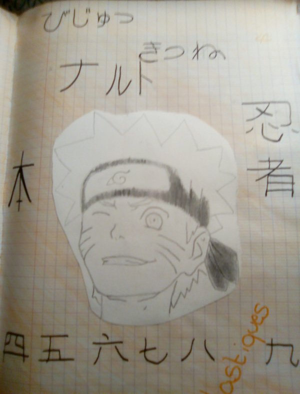 Mes production de 5eme P1: Naruto