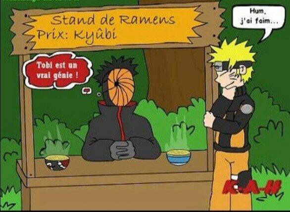 Stand de Ramen de l'akatsuki lol