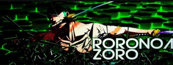 Spécial Zoro Roronoa