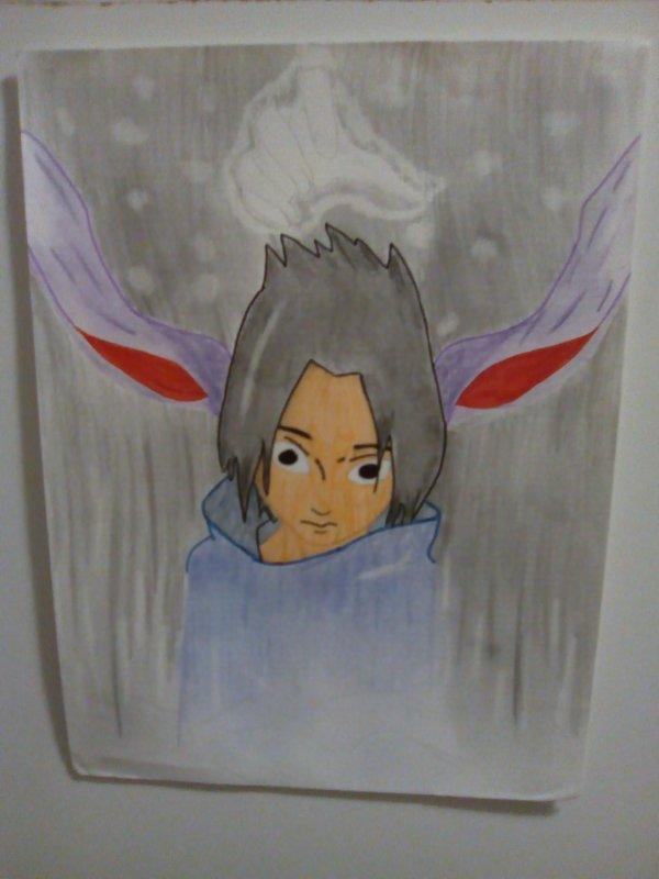 Concour de dessin: LA PEUR: Sasuke Uchiwa