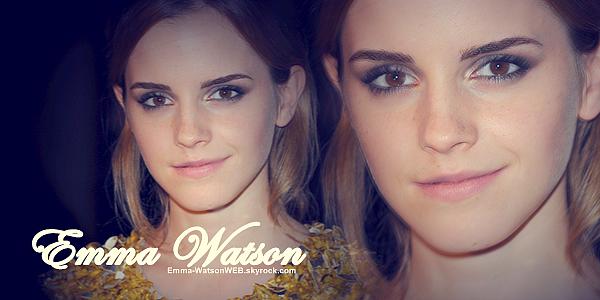 Votre nouvelle source sur la talentueuse Emma Watson !