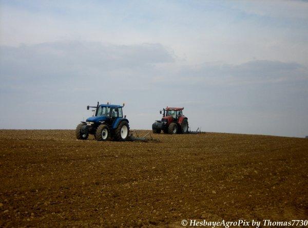 Préparation des Terres avant Betteraves ; J. Dacosse & M. Petit